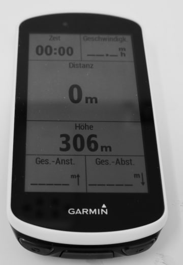 Garmin Edge 1030 GPS Radcomputer Training