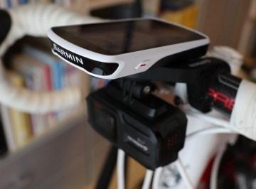 Garmin Edge 1030 mit Virb2 Video Kamera