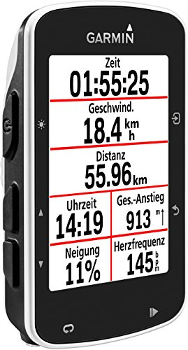 Garmin Edge 520 GPS-Fahrradcomputer, Performance- und Trainingsanalyse, Strava Live Segmente, 2,3 Zoll (5,8 cm) Display - 2