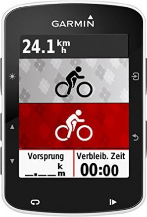 Garmin Edge 520 GPS-Fahrradcomputer, Performance- und Trainingsanalyse, Strava Live Segmente, 2,3 Zoll (5,8 cm) Display - 12