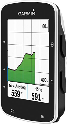 Garmin Edge 520 GPS-Fahrradcomputer, Performance- und Trainingsanalyse, Strava Live Segmente, 2,3 Zoll (5,8 cm) Display - 3