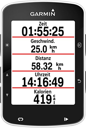 Garmin Edge 520 GPS-Fahrradcomputer, Performance- und Trainingsanalyse, Strava Live Segmente, 2,3 Zoll (5,8 cm) Display - 5