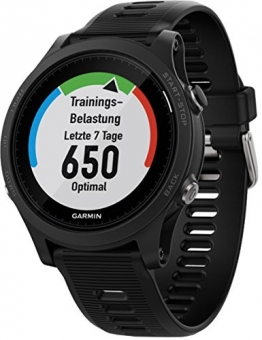 Garmin Forerunner 935Bluetooth Black Sportuhr, aus Polymer, schwarz, Silikonarmband, Glas, wasserdicht bis 5ATM - 1