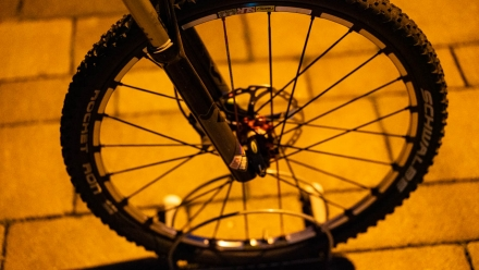 SKS Fahrradpumpe