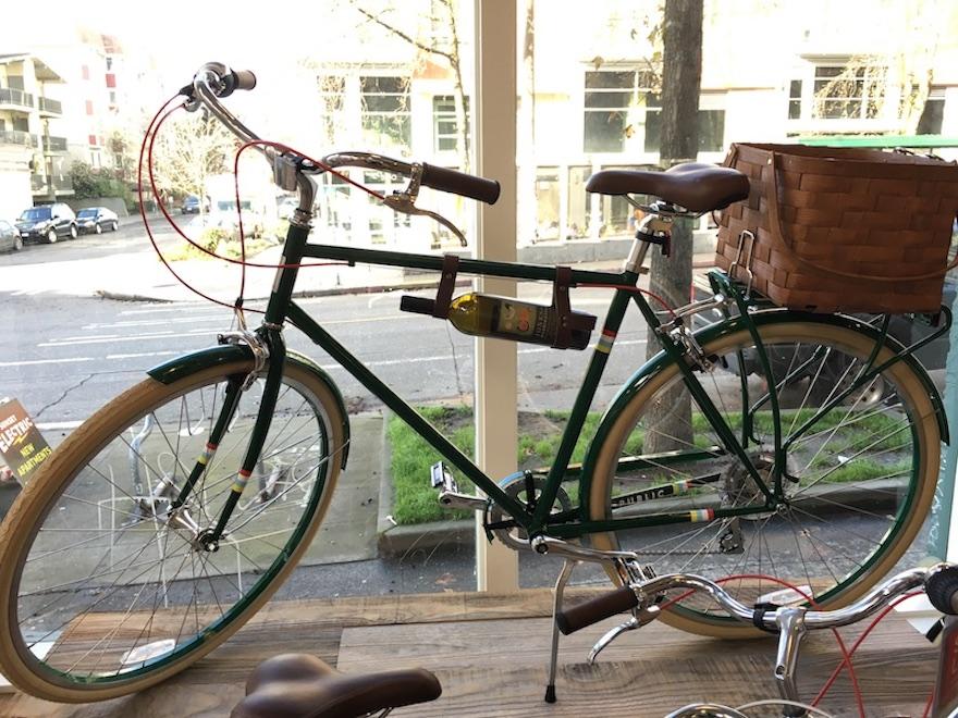 Wein nach dem Radsport?