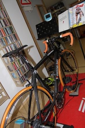 Radsporttraining mit der Rolle