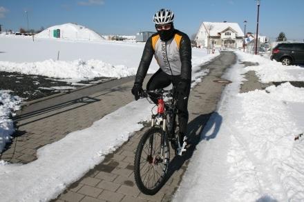 Radsporttraining im Winter