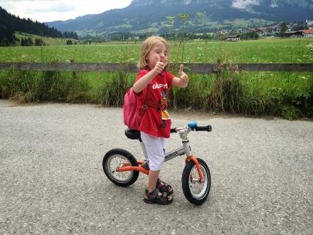 Radsporttraining für Kinder
