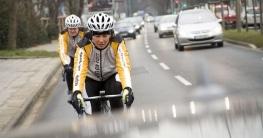 Fahrradbeleuchtung für Rennrad