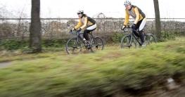 Fahrradbeleuchtung für Wald