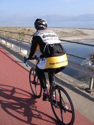 Zeitfahren beim Radsporttraining