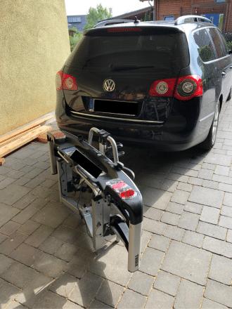 Fahrradträger schnellkupplung
