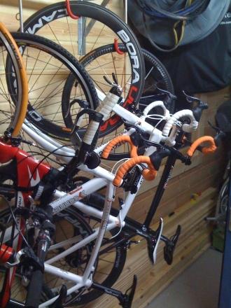 Fahrradhalterung Senkrecht