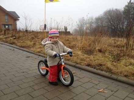 Fahrradhelm Kind Mütze