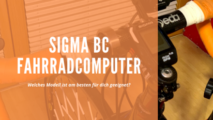Sigma BC Fahrradcomputer