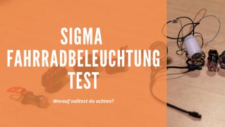 Sigma Fahrradbeleuchtung Test