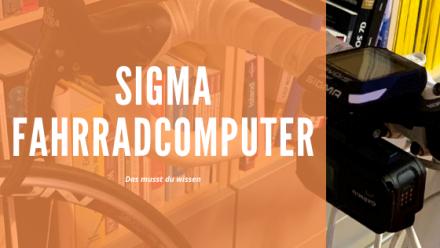 Sigma Fahrradcomputer Test