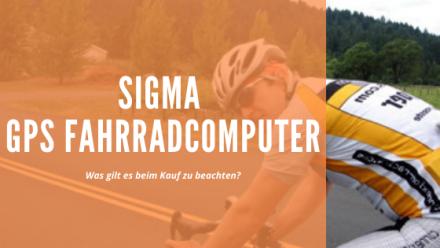Sigma Fahrradcomputer GPS