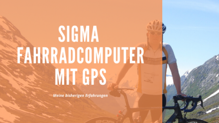 Sigma Fahrradcomputer mit GPS