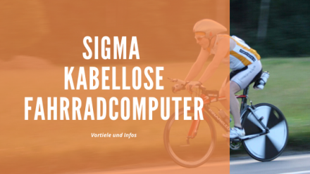 Sigma kabellose Fahrradcomputer