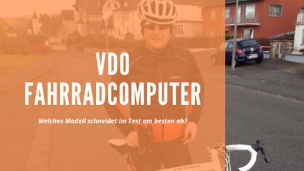 VDO Fahrradcomputer Test