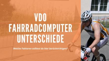 VDO Fahrradcomputer Eigenschaften