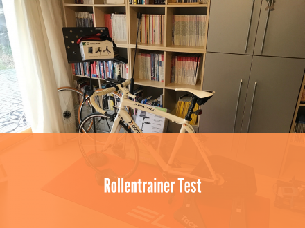 Rollentrainer Test