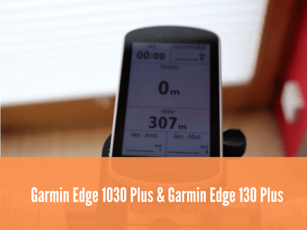 Garmin Edge 1030 Plus und Garmin Edge 130 Plus