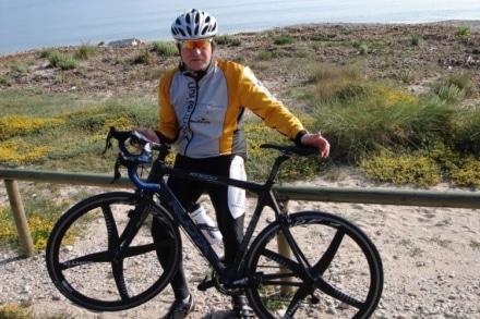 Rennrad Fahrradschloss Urlaub