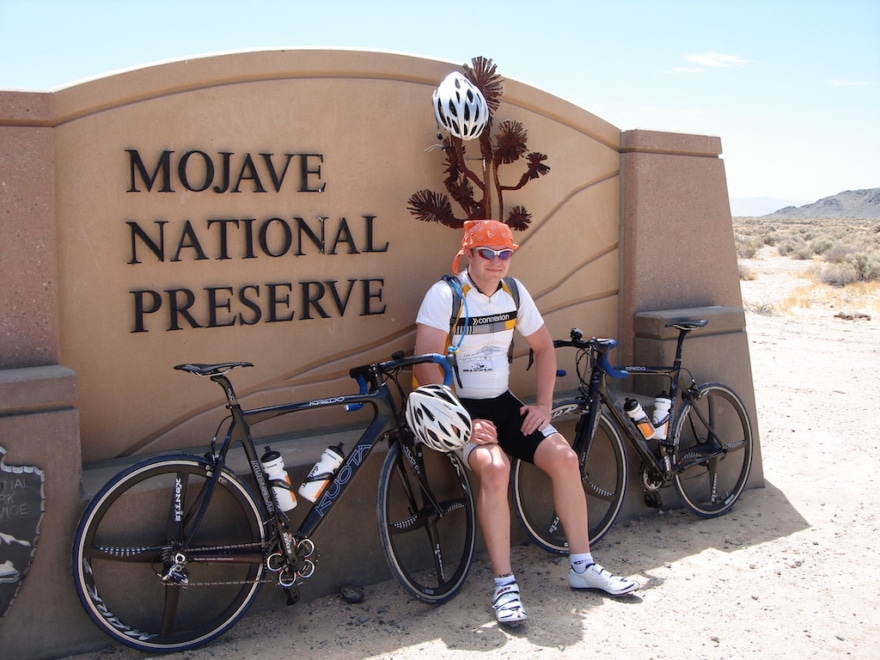 Radsport Sonnenschutz Mojave